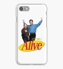 seinfeld im seriously depressed send xanax  iPhone Case/Skin