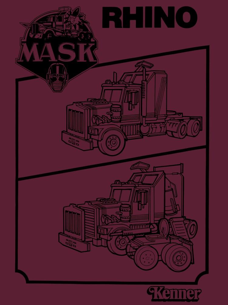 M.A.S.K. - Rhino by boulderhillnet