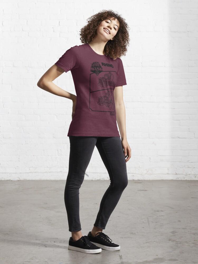 Alternate view of M.A.S.K. - Rhino Essential T-Shirt