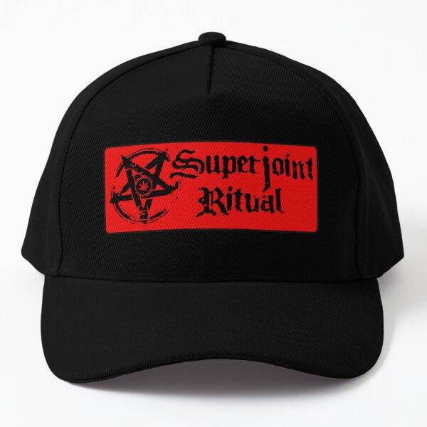 Superjoint Ritual Band Logo Red version Baseball Cap