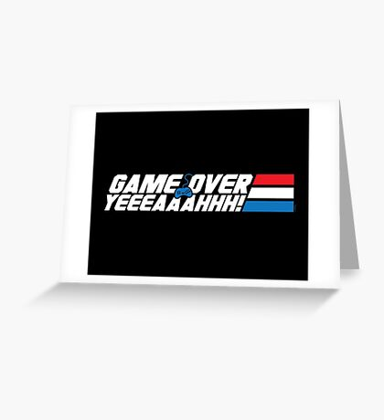 Game Over Yeah! Greeting Card