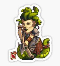 Tiny Fantasy Adventures: Gorgons Sticker