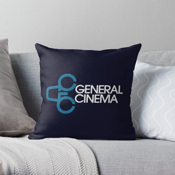 General Cinema Corporation Defunct Movie Theater Throw Pillow