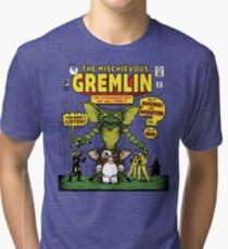 The Mischievous Gremlin Tri-blend T-Shirt