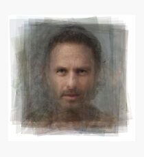 Rick Grimes, the Walking Dead Photographic Print