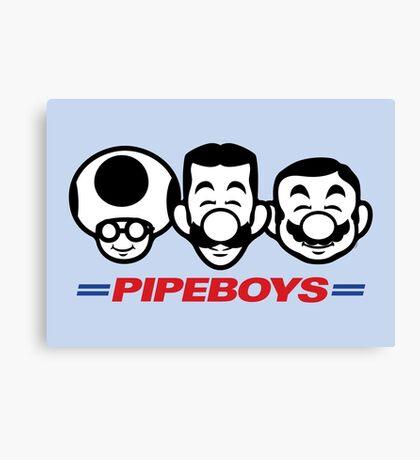 Pipe Boys Canvas Print