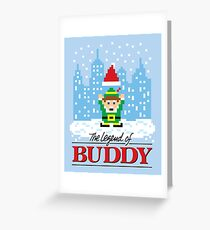 The Legend of Buddy Greeting Card