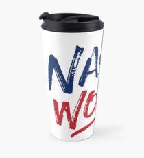 Nasty Woman - Patriotic Travel Mug