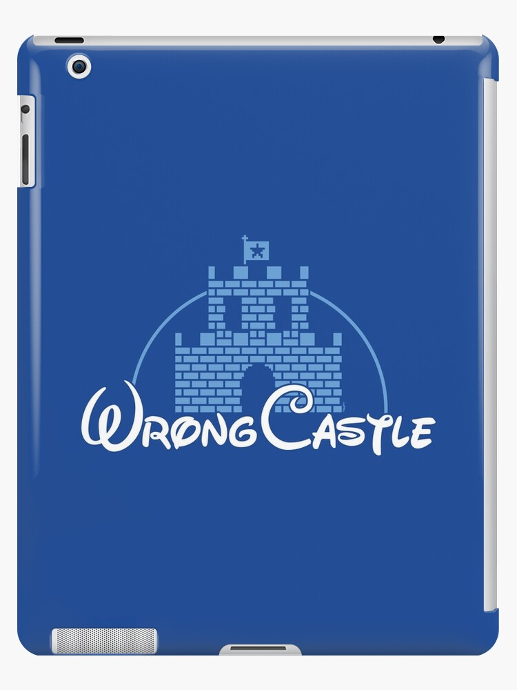 Wrong Castle by mikehandyart