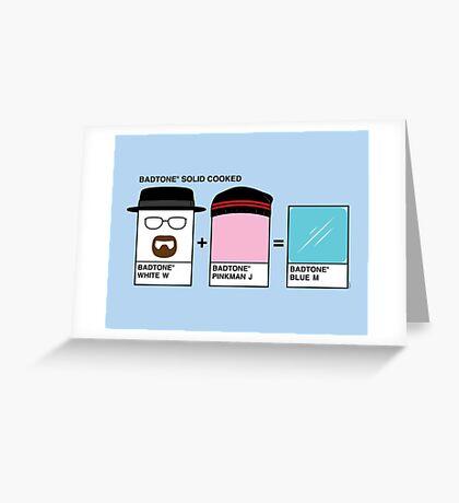Badtones Greeting Card
