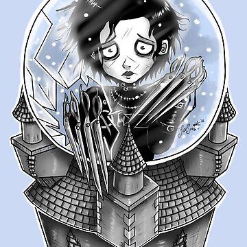 Edward Scissorhands by Ravenous-Decay