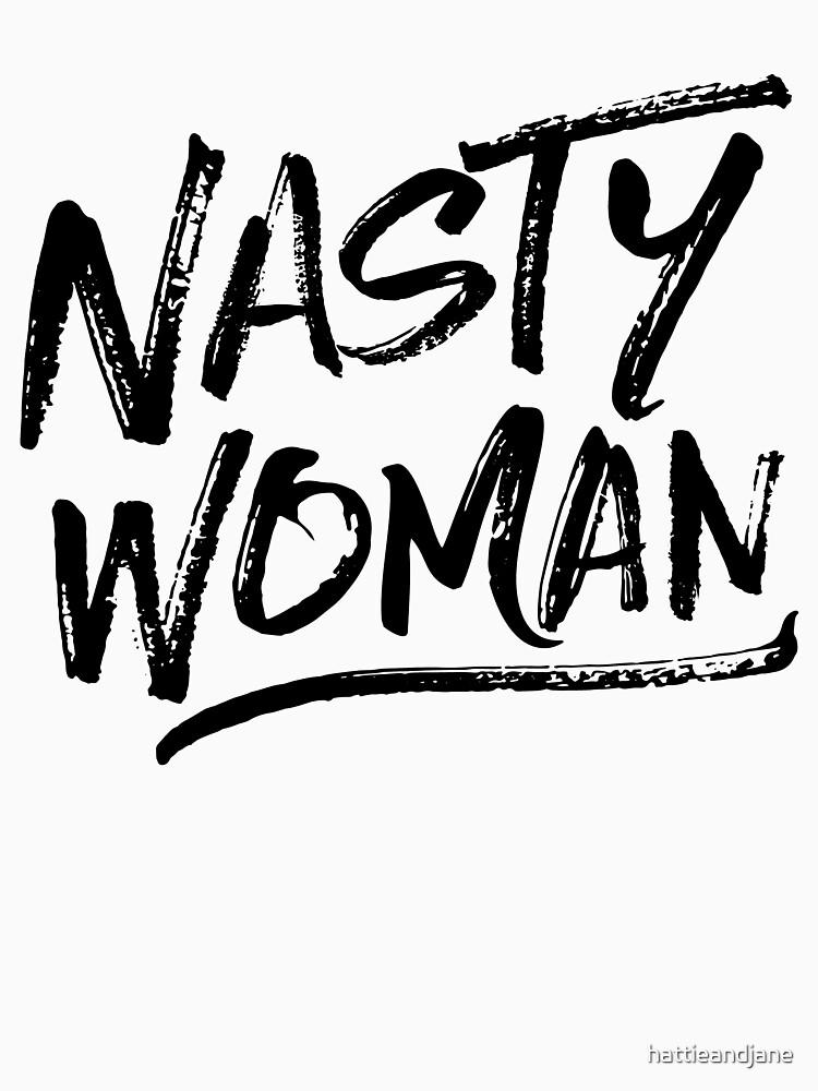 Nasty Woman - Black by hattieandjane