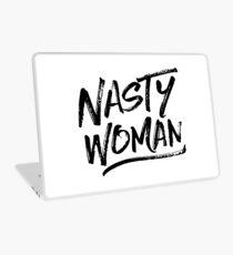 Nasty Woman - Black Laptop Skin