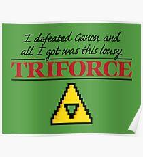 Lousy Triforce Poster