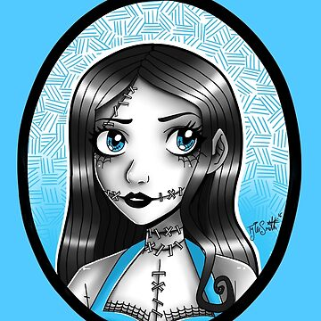Pinup Sally by Ravenous-Decay