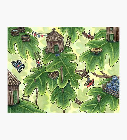 Little Leaf Village Photographic Print