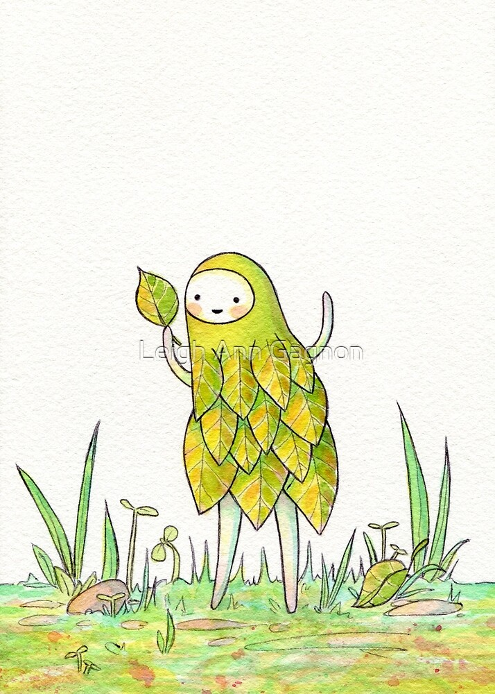 I Has A Leaf! by Leigh Ann Gagnon