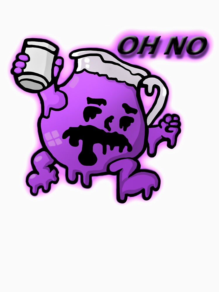 """Kool Aid Man Lean"" Unisex T-Shirt by bigbangtan1004 ... Purple Kool Aid Man"