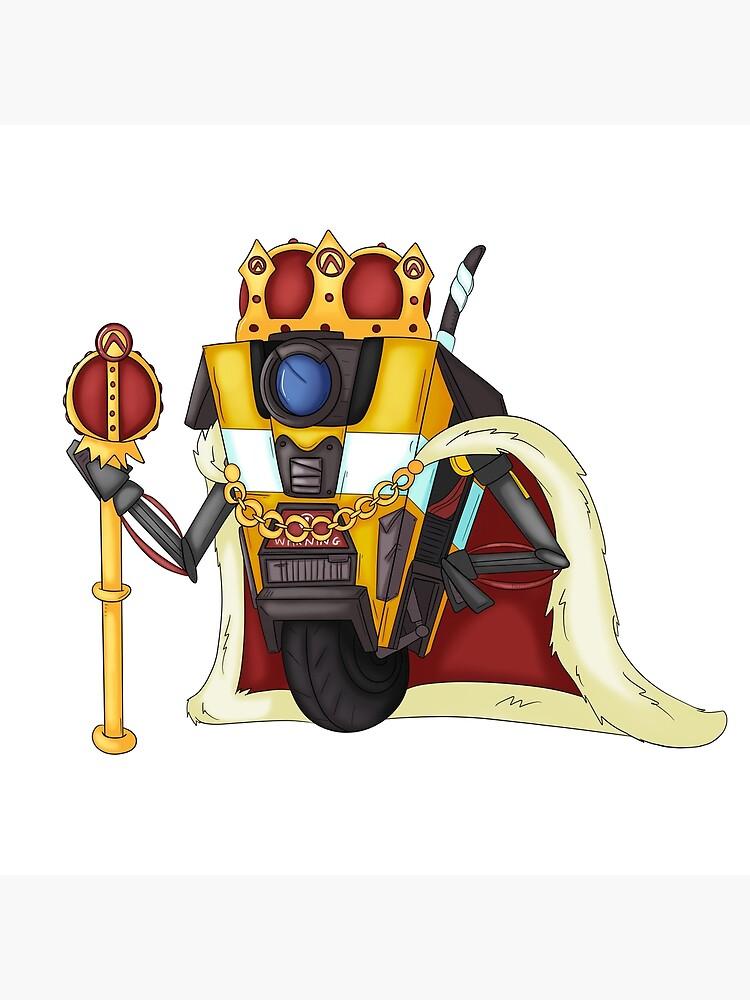 Borderlands King Claptrap by CaptainShivers