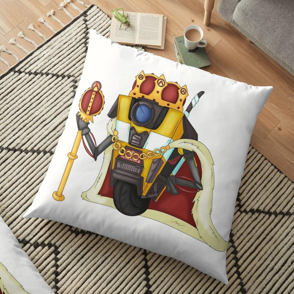 Borderlands King Claptrap Floor Pillow
