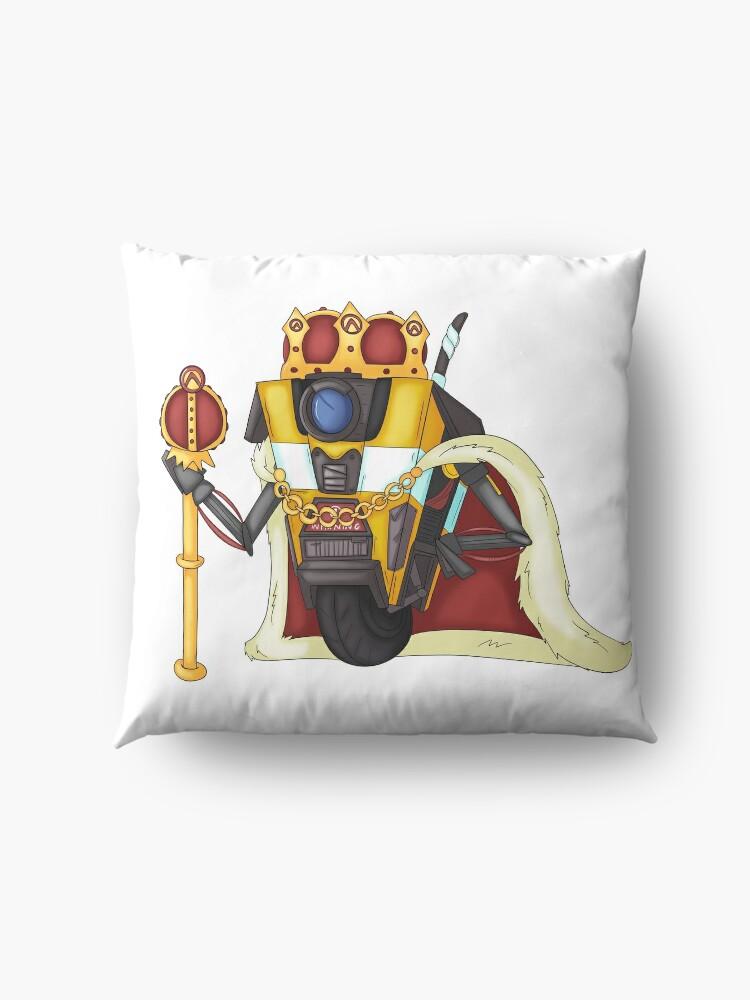 Alternate view of Borderlands King Claptrap Floor Pillow