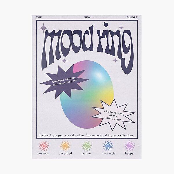 Mood Ring Vintage Photographic Print