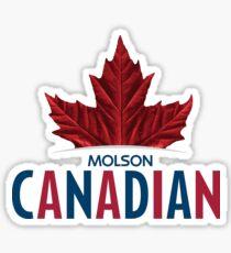 LOGO OF MOLSON CANADIAN Sticker