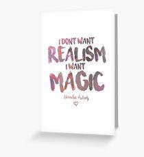 I Want Magic  Greeting Card