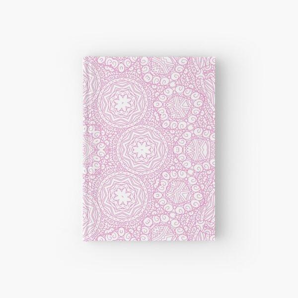 Pink pattern Hardcover Journal