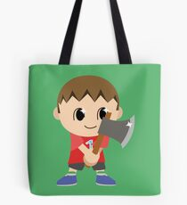Chibi Animal Crossing Villager Vector Tote Bag