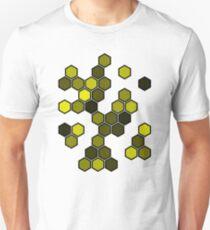 Yellow Honeycomb Slim Fit T-Shirt