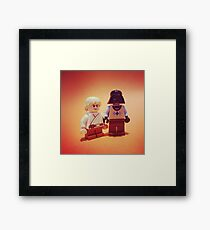 """Bring-Your-Vader-to-School-Day"" Framed Print"