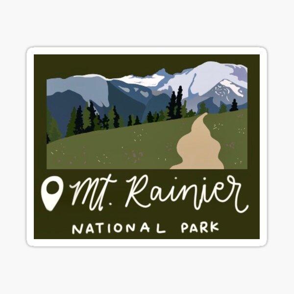 Mt. Rainier  Sticker