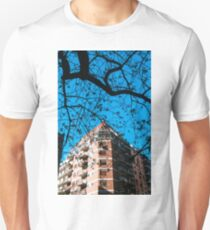 Contruction and Tree Unisex T-Shirt