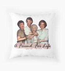 A Friend For Life Throw Pillow