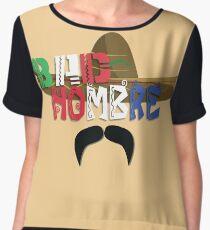 Bad Hombre Women's Chiffon Top