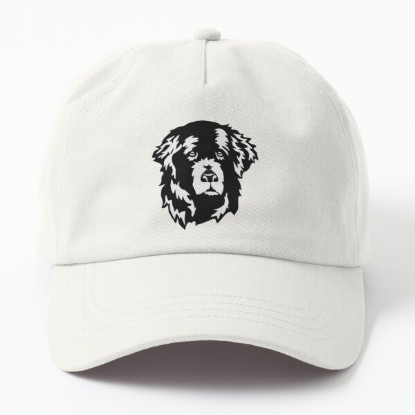 Sweet Newfoundland Dog Face Dad Hat