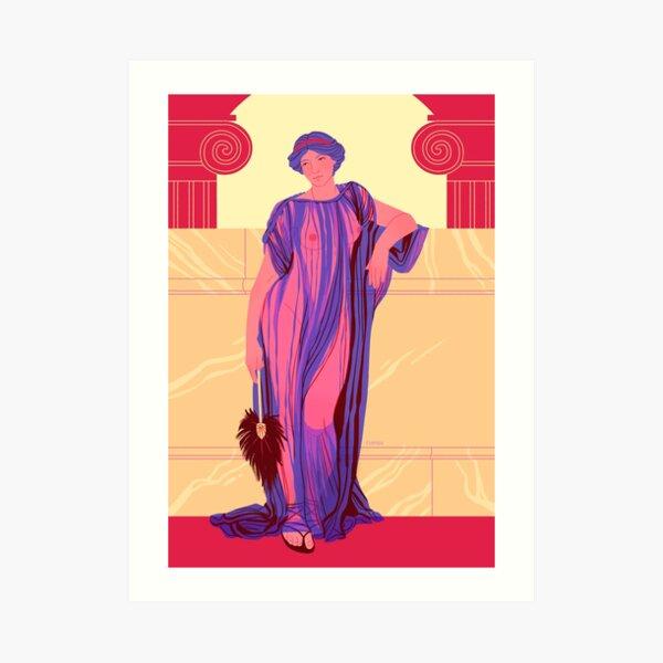 Athenais Study Art Print