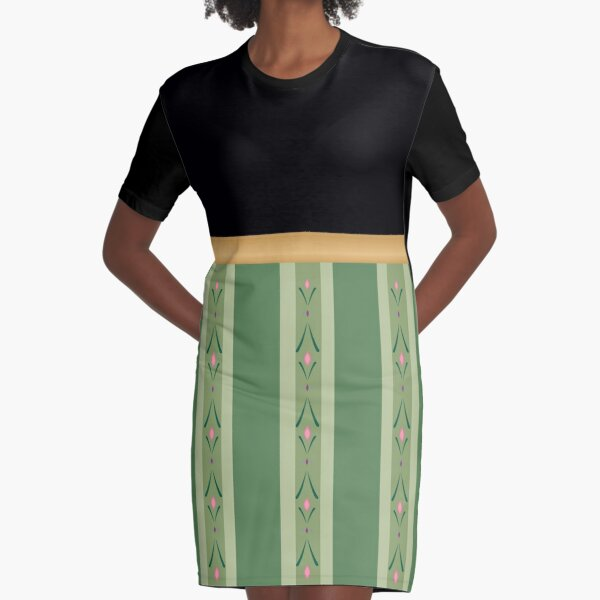 Nordic Princess  Graphic T-Shirt Dress