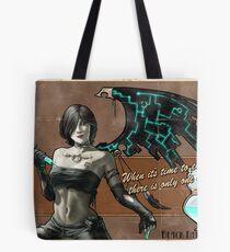 Black Fairy Lethal Tote Bag