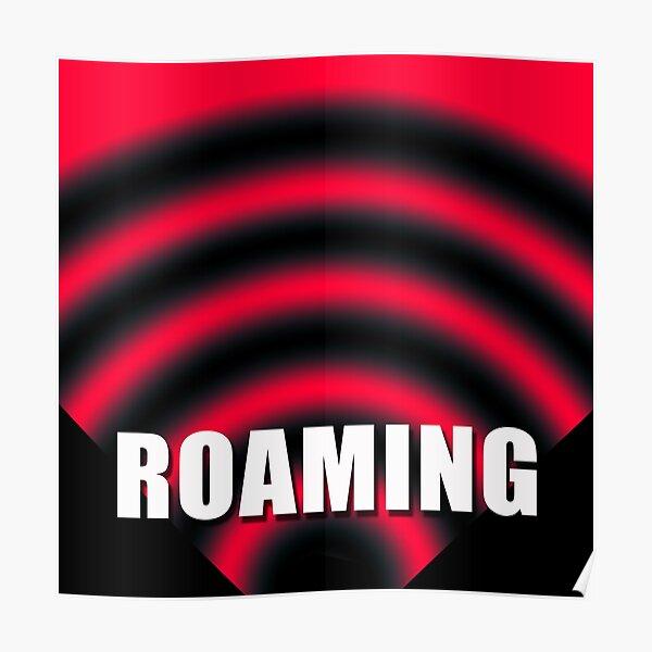 Roaming Symbol by Jan Marvin Poster