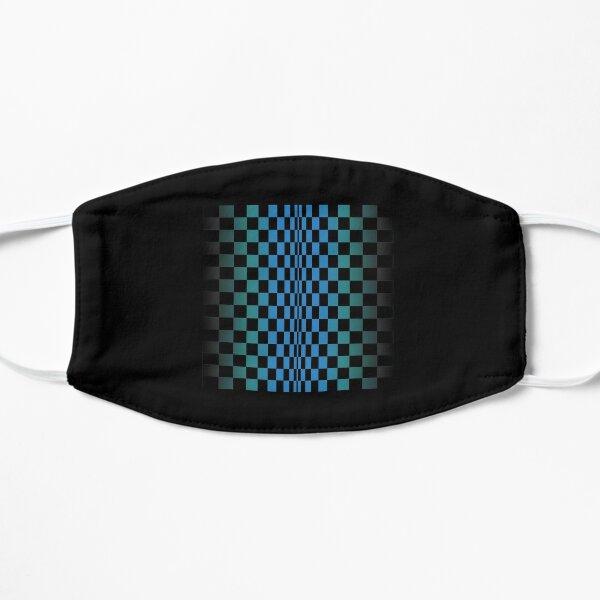 Visual depth tshirt , optical perspective tshirt , optical art tshirt Flat Mask