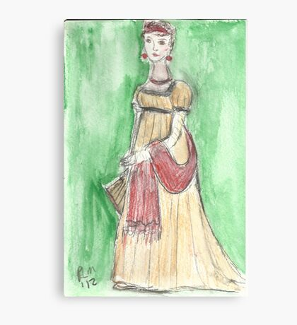 The Lady From Martinique Canvas Print