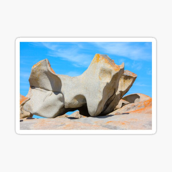 Remarkable Rocks on Kangaroo Island,South Australia Sticker