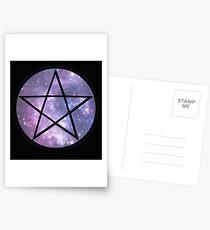 Pentagram Galaxy  Postcards