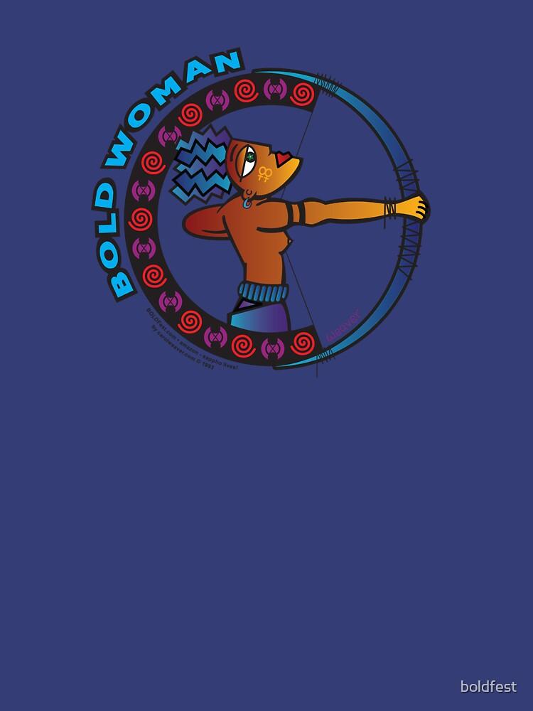 BOLD Woman - Amazon - Sappho Lives! by boldfest
