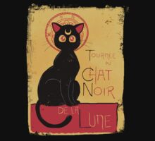 Chat Noir de la Lune - v.2.0 | Women's T-Shirt
