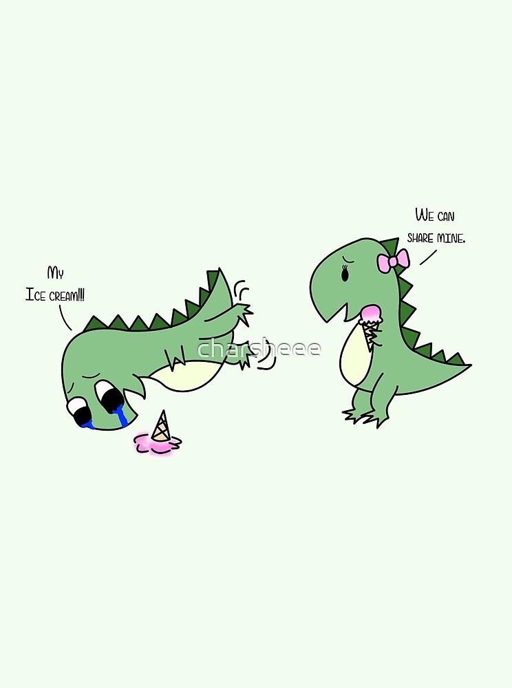 Dino Love (sharing) von charsheee