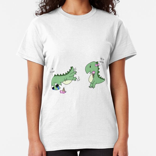 I LOVE YOU THIS MUCH MENS T SHIRT JOKE DINOSAUR CARTOON ROMANCE VALENTINES NEW