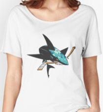 #soft Jose Sharks Women's Relaxed Fit T-Shirt